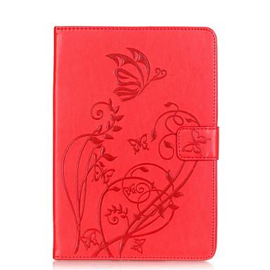 Mert Kártyatartó / Other Case Teljes védelem Case Virág Puha Műbőr Apple iPad Mini 3/2/1