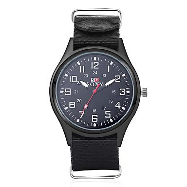 2b67daf1d35f abordables Relojes de Hombre-SOXY Hombre Reloj de Vestir Cuarzo Negro    Verde Cool
