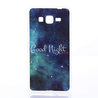 Mert Samsung Galaxy tok Minta Case Hátlap Case Látvány Puha TPU Samsung Grand Prime / Grand Neo / Core Prime