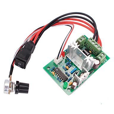120W pwm irányváltó kapcsoló DC motor fordulatszám-szabályozó előre / hátra kapcsoló