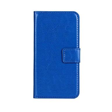 Voor Huawei hoesje / P8 / P8 Lite Portemonnee / Kaarthouder / met standaard / Flip hoesje Volledige behuizing hoesje Effen kleur Hard