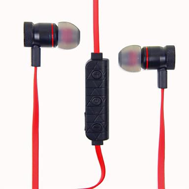 M9 Fülben Vezeték nélküli Fejhallgatók Dinamikus Aluminum Alloy Sport & Fitness Fülhallgató Magnet Attraction A hangerőszabályzóval