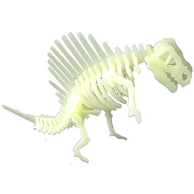 Iluminação de LED Adesivos Quebra-Cabeça Brinquedos Dinossauro Fluorescente Brilha no Escuro Faça Você Mesmo Noctilucente Plástico Peças