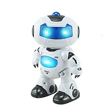 RC 로봇 어린이 전자 로봇 적외선 ABS 명음 댄싱 워킹 원격 제어 명음 댄싱 음악 및 라이트