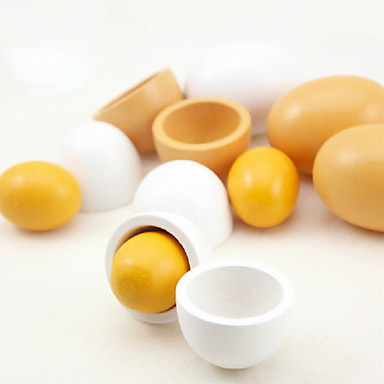 나무 시뮬레이션 계란 6 개 / 세트