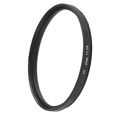 emoblitz의 55mm의 UV 자외선 보호 렌즈 필터 블랙