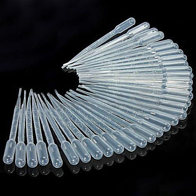 50pcs 3ml pipete droppers picurare lichid pasteur pentru bucatarie de laborator