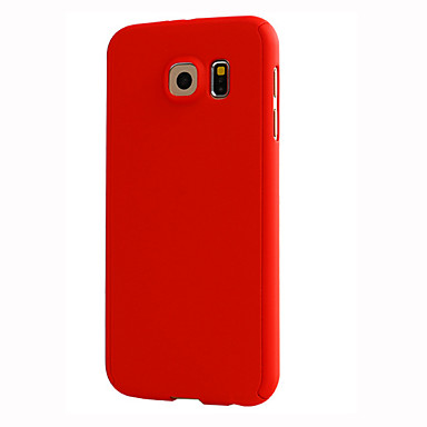 Mert Samsung Galaxy tok Other Case Teljes védelem Case Egyszínű Kemény PC Samsung S7 / S6