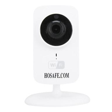 hosafe câmera IP sem fio com p2p / two-way de áudio / visão noturna / apoio 64g micro sd gravação do cartão de 30 dias