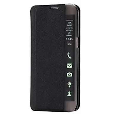Case Kompatibilitás Samsung Galaxy Samsung Galaxy tok Állvánnyal Betekintő ablakkal Automatikus készenlét / ébresztés Flip Ultra-vékeny