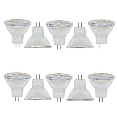 2 W 150-200 lm GU4(MR11) Dekoratív MR11 9 led SMD 5730 Dekoratív Meleg fehér Hideg fehér 9-30