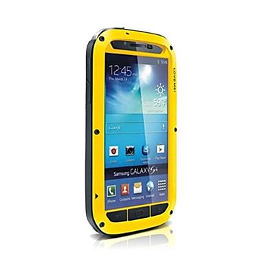 αγαπούν mei αδιάβροχη θήκη μεταλλική γορίλα χτυπήματα αλουμινίου για i9500 Samsung Galaxy S4