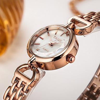 여성용 드레스 시계 팔찌 시계 석영 일본 쿼츠 / 합금 밴드 캐쥬얼 실버 로즈 골드