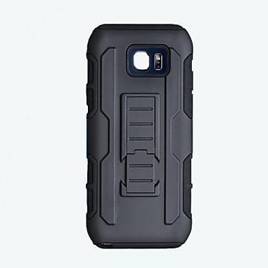 hoesje Voor Samsung Galaxy Schokbestendig met standaard Achterkant Effen Kleur Hard PC voor S6 edge plus S6 edge S6 S5 S4