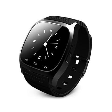 Χαμηλού Κόστους Ανδρικά ρολόγια-Αντρικά Unisex Αθλητικό Ρολόι Ψηφιακό LED LCD Οθόνη Αφής Τηλεχειριστήριο Ημερολόγιο PU Μπάντα Απίθανο Μαύρο Λευκή Μπλε