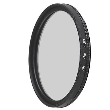 emoblitz의 49mm의 CPL 원형 편광 렌즈 필터