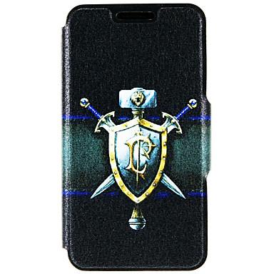 Mert iPhone 6 tok / iPhone 6 Plus tok Kártyatartó / Állvánnyal Case Teljes védelem Case Páncél Kemény Műbőr AppleiPhone 6s Plus/6 Plus /