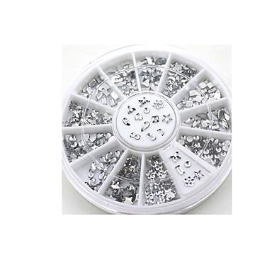 투명 디아 만 테 라인 석 크리스탈 네일 아트 살롱 스티커 디자인 데칼 팁 DIY 장식 반짝이