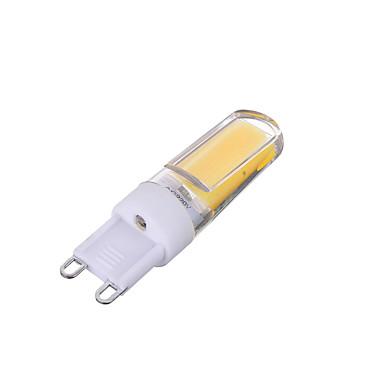 200-300lm G9 LED Bi-pin 조명 T 1 LED 비즈 COB 밝기조절가능 장식 따뜻한 화이트 차가운 화이트 220-240V