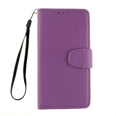 용 LG케이스 카드 홀더 / 지갑 / 스탠드 / 플립 케이스 풀 바디 케이스 단색 하드 인조 가죽 LG LG G5 / LG G4 / LG G3 Beat / G3 Mini