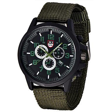 זול שעוני גברים-בגדי ריקוד גברים שעון יד שעון שדה קווארץ שחור / כחול / ירוק לוח שנה אנלוגי קלסי יום יומי אריסטו - ירוק כחול ירוק האנטר / מתכת אל חלד