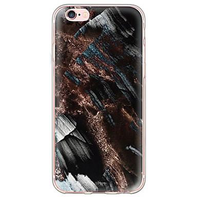 제품 아이폰6케이스 아이폰6플러스 케이스 케이스 커버 울트라 씬 반투명 뒷면 커버 케이스 마블 소프트 TPU 용 Apple iPhone 6s Plus iPhone 6 Plus iPhone 6s 아이폰 6 iPhone SE/5s iPhone 5