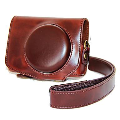 dengpin® pu bőrből készült tok táska fedele Canon PowerShot G7 x mark ii g7x2 (vegyes színek)