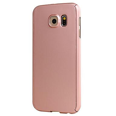 케이스 제품 Samsung Galaxy Samsung Galaxy S7 Edge Other 전체 바디 케이스 한 색상 하드 PC 용 S7 edge S7 S6 edge S6