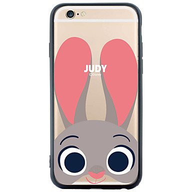 Case Kompatibilitás Apple iPhone 6 iPhone 6 Plus Minta Fekete tok Állat Puha TPU mert iPhone 6s Plus iPhone 6s iPhone 6 Plus iPhone 6