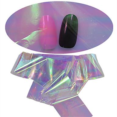 1 pcs Glitters / Esküvő / Glitter & Sparkle Köröm ékszer / Glitter & Poudre / Körömfestés tippek Szeretetreméltő
