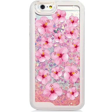 Mert iPhone 6 tok / iPhone 6 Plus tok Folyékony / Minta Case Hátlap Case Virág Kemény PC AppleiPhone 6s Plus/6 Plus / iPhone 6s/6 /