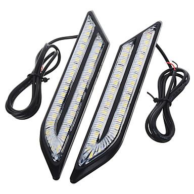 voordelige Autoverlichting overdag-exLED 2pcs Automatisch Lampen 24 W SMD 5630 500 lm 66 LED Dagrijverlichting Voor