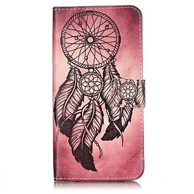 용 아이폰7케이스 / 아이폰7플러스 케이스 / 아이폰6케이스 지갑 / 카드 홀더 / 플립 케이스 풀 바디 케이스 포수 드림 하드 인조 가죽 Apple 아이폰 7 플러스 / 아이폰 (7)