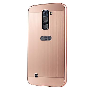 케이스 제품 그외 LG LG K10 LG G5 LG G4 LG케이스 도금 뒷면 커버 한 색상 하드 아크릴 용 LG V10 LG G4 스타일러스 / LS770