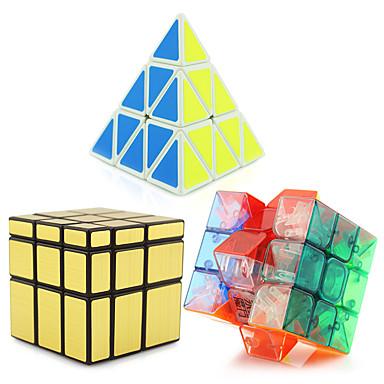 루빅스 큐브 피라 밍크 스 에일리언 거울 큐브 3*3*3 부드러운 속도 큐브 매직 큐브 퍼즐 큐브 전문가 수준 속도 탑 선물 클래식&타임레스 여아