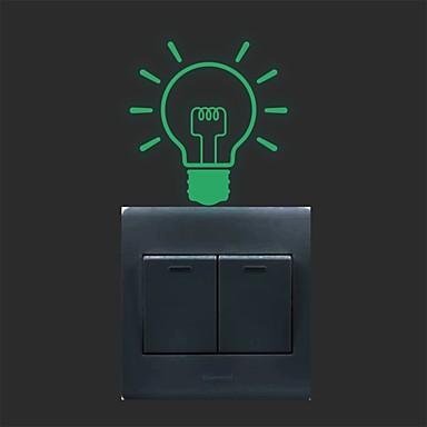 로맨스 벽 스티커 플레인 월스티커 / 루미너스 월 스티커 데코레이티브 월 스티커 / 라이트 Switch 스티커,PVC 자료 이동가능 홈 장식 벽 데칼