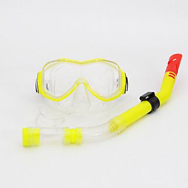스노클 다이빙 마스크 스노쿨링 패키지 안티 - 안개 조절가능 다이빙 실리콘 PVC