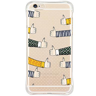 용 아이폰6케이스 / 아이폰6플러스 케이스 충격방지 / 방진 / 패턴 케이스 뒷면 커버 케이스 카툰 소프트 TPU Apple iPhone 6s Plus/6 Plus / iPhone 6s/6 / iPhone SE/5s/5