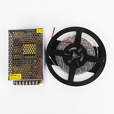 z®zdm 500 만 100w 600 * 7020 SMD 차가운 흰색 유연한 LED 빛과 8.5A의 변압기를 DC12V하는 AC100-240V