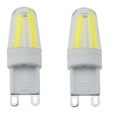 G9 LED betűzős izzók T 4 led COB Vízálló Tompítható Dekoratív Meleg fehér Hideg fehér Természetes fehér 300-350lm 3000-6000K AC 220-240