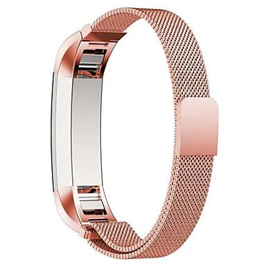 시계 밴드 용 Fitbit Alta 핏빗 밀라노 루프 스테인레스 스틸 손목 스트랩