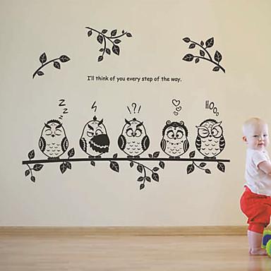 Dekoracyjne naklejki ścienne - Naklejki ścienne lotnicze Rysunek Living Room / Sypialnia / Łazienka / Removable