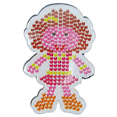 Schmelzperlen Spielzeuge 5mm Vorlage Spaß Kunststoff Klassisch Stücke Kinder Geschenk