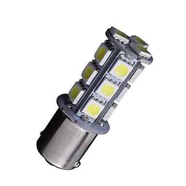 10 x witte 1156 BA15S 18-SMD 5050 LED-lampen richtingaanwijzer backup omgekeerde