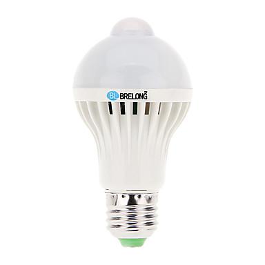 7 E26/E27 LED gömbbúrás izzók A60(A19) 16 SMD 5730 600 lm Hideg fehér Szenzor / Dekoratív AC 220-240 V 1 db.
