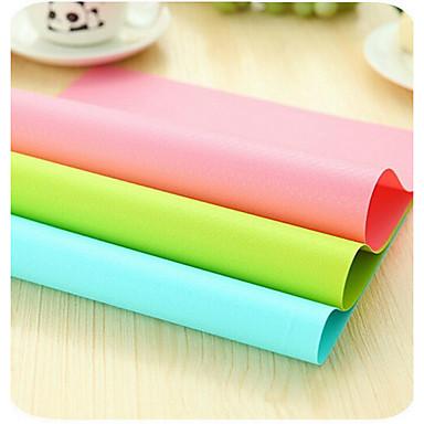 Derékszögű Egyszínű Alátétek , Műanyag Anyag 4