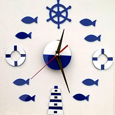 정물화 벽 스티커 플레인 월스티커 시계 스티커,PVC 자료 재부착가능 홈 장식 벽 데칼