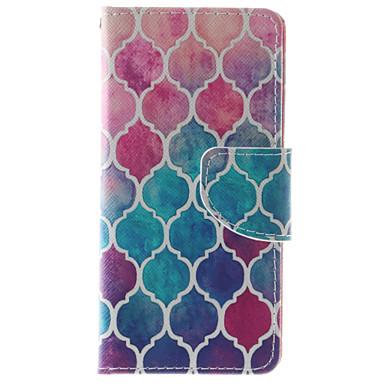 Mert iPhone 6 tok / iPhone 6 Plus tok Pénztárca / Kártyatartó / Ütésálló / Porálló / Állvánnyal Case Teljes védelem Case Álcázás Puha