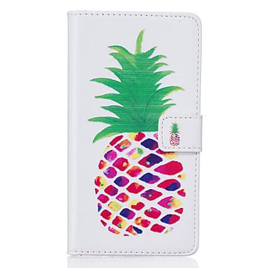 케이스 제품 Samsung Galaxy Samsung Galaxy S7 Edge 카드 홀더 지갑 스탠드 플립 패턴 전체 바디 케이스 과일 소프트 PU 가죽 용 S7 edge S7 S6 edge plus S6 edge S6 S5