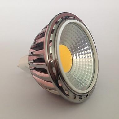 GU5.3(MR16) LED szpotlámpák MR16 1 led COB Dekoratív Meleg fehér 450lm 2700K AC 12V